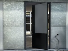 - Contemporary style metal pivot door ZEN PIVOT BASE - Interno Doors