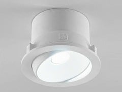 - Adjustable ceiling spotlight ZENIT 1/G - Aldo Bernardi