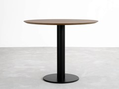 - Round wooden table ZERO | Wooden table - STUA