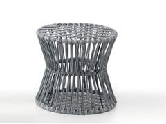 - Contemporary style iron garden pouf ZIGGY - CLESSIDRA | Pouf - Saba Italia