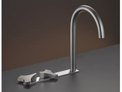 - 3 hole washbasin tap with swivelling spout ZIQ 10 - Ceadesign S.r.l. s.u.