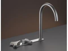 - 3 hole washbasin tap with swivelling spout ZIQ 10 - Ceadesign S.r.l. s.u.