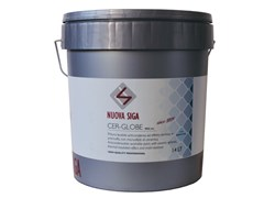 Pittura traspirante anti-muffa lavabile ad effetto termicoCER-GLOBE - NUOVA SIGA
