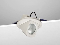 - Adjustable ceiling aluminium spotlight A21 - NOBILE ITALIA