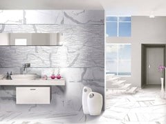 - Wall tiles with marble effect ABSOLUTE PLUS SWING - CERAMICHE BRENNERO