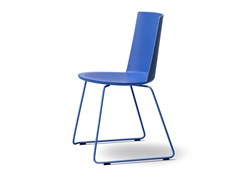 - Sled base polypropylene chair ACME | Sled base chair - FREDERICIA FURNITURE