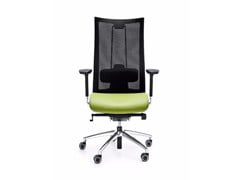 - Swivel task chair with 5-Spoke base with armrests ACTION 105SFL - profim