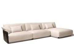 Divano componibile in tessutoADAM   Divano con chaise longue - GIORGETTI