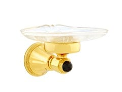 - Brass soap dish with Swarovski® Crystals ADRIATICA | Soap dish with Swarovski® Crystals - Bronces Mestre