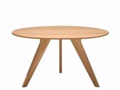 - Round wooden table AGO - AG2 | Oak table - Alias
