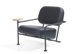 - Leather armchair with armrests ÅHUS | Leather armchair - Blå Station