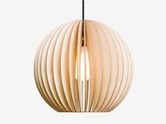 - Plywood pendant lamp AION L - IUMI