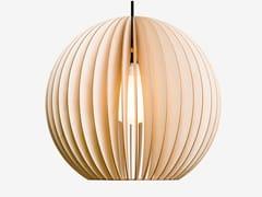 - Plywood pendant lamp AION XL - IUMI