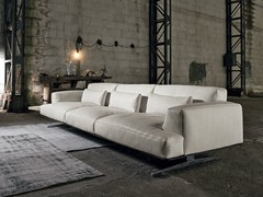 - 4 seater leather sofa ALBACHIARA | 4 seater sofa - Max Divani
