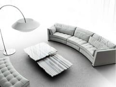 - Round fabric sofa ALCHIMIA TONDO - ERBA ITALIA