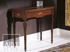 - Consolle allungabile rettangolare in legno massello ALESSANDRO - Arvestyle