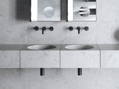 Lavabo integrato in marmoALFEO - SALVATORI