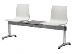 - Seduta su barra a pavimento in tecnopolimero ALICE | Seduta su barra a pavimento - SCAB DESIGN