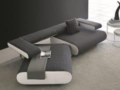 - Convertible fabric sofa ALICE   Fabric sofa - Egoitaliano