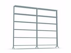 - Open modular aluminium bookcase ALINE - J01 - Alias