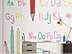 Carta da parati lavabile per bambiniALPHA - GIPRINT
