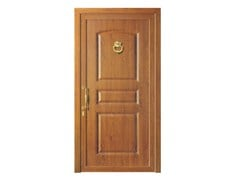 - Door panel for outdoor use ALU CLASSIC AURIGAK LEGNO - Metalnova