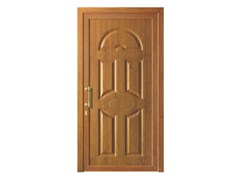 - Door panel for outdoor use ALU CLASSIC LIBRAK LEGNO - Metalnova