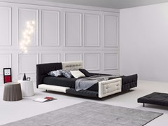 - Double bed with removable cover with tufted headboard ALVAR | Double bed - Bonaldo