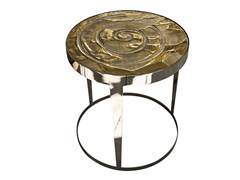 - Round ceramic coffee table AMADEUS | Ceramic coffee table - Fratelli Longhi