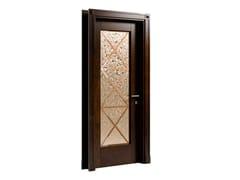 Porta a battente in legno e vetroAMALFI - CAROTI &CO.