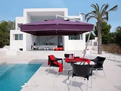 - Offset adjustable square Garden umbrella AMALFI | Square Garden umbrella - Michael Caravita