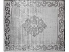 - Handmade rectangular custom rug AMIRAL PEARL - EDITION BOUGAINVILLE