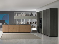 Cucina componibile in rovere con isolaANDROMEDA | Cucina in rovere - GF FLORITELLI