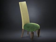 - High-back velvet chair ANDY | Velvet chair - VGnewtrend