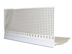 Profilo angolare in PVC con rompigocciaANGOLARE IN PVC CON ROMPIGOCCIA - IDA