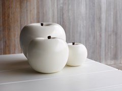 SCULTURA IN CERAMICA APPLE - GARDECO