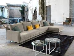 - Fabric sofa with chaise longue ARAKI | Sofa with chaise longue - Domingo Salotti