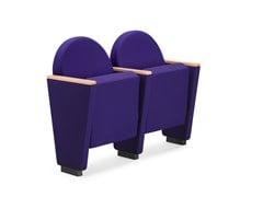 - Fabric auditorium seats ARAN 581 - TALIN