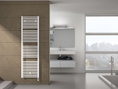 - Electric vertical steel towel warmer ARES | Electric towel warmer - IRSAP