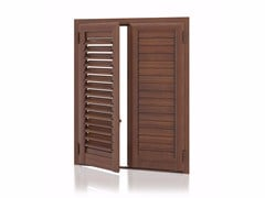 - Aluminium shutter with adjustable louvers with planar louvers ARKUS Planar Adjustable - Kikau