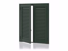 - Aluminium shutter with fixed louvers ARKUS Fixed Slats - Kikau