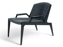 - Fabric garden armchair with armrests KATE | Armchair with armrests - Atipico