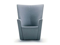 - Swivel fabric armchair with removable cover with armrests ARMILLA   Fabric armchair - arflex