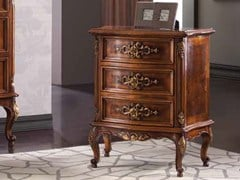 - Rectangular bedside table with drawers ARMONIE | Briar bedside table - Arvestyle