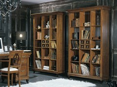 - Freestanding wooden bookcase ARMONIE | Open bookcase - Arvestyle