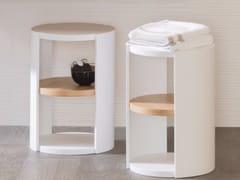 Mobile bagno / sgabello per bagno in legnoARO | Sgabello per bagno - SYSTEMPOOL KRION® PORCELANOSA SOLID SURFACE