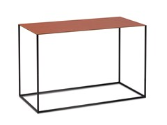 - Rectangular leather side table ASCOT JR-T938 | Rectangular coffee table - Jori