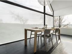 Tessuto autoadesivo trasparente per la copertura di finestreASH - ACTE DECO