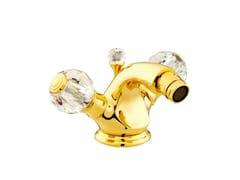 - 1 hole bidet tap with Swarovski® crystals ATLANTICA | 1 hole bidet tap - Bronces Mestre