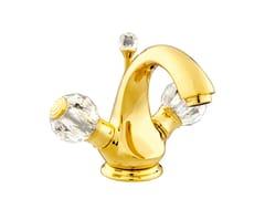 - 1 hole washbasin tap with Swarovski® crystals ATLANTICA | 1 hole washbasin tap - Bronces Mestre